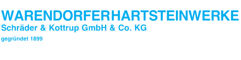 Warendorfer Hartsteinwerke Logo